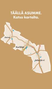 Kurikka Kaupunki Kartta Kurkkaa